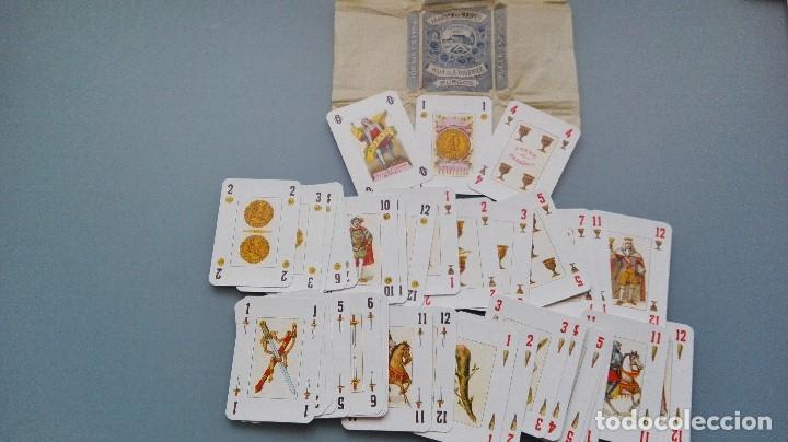 Barajas de cartas: JUEGO COMPLETO BARAJA DE CARTAS 1955 NAIPES HIJA DE FOURNIER BURGOS POKER ESPAÑOL NUEVA PERFECTA - Foto 2 - 152271518