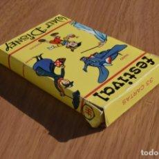 Barajas de cartas: BARAJA FOURNIER FESTIVAL DISNEY 1983. Lote 152384914
