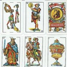 Barajas de cartas: BARAJA ESPAÑOLA EURO CRES-REVERSO AT. DE MADRID -AÑO 1990. Lote 152490110
