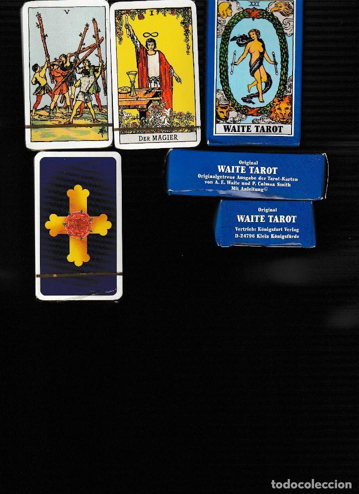 WAITE TAROT (Juguetes y Juegos - Cartas y Naipes - Barajas Tarot)