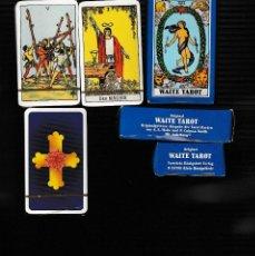 Barajas de cartas: WAITE TAROT. Lote 152494670