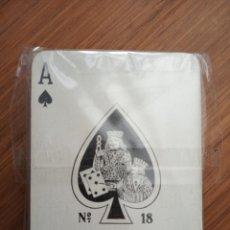 Barajas de cartas: BARAJA POKER VICTORIA FOURNIER Nº 18 1958 TIMBRE SOBRE NAIPES 3 PESETAS. Lote 152528590