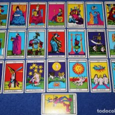 Barajas de cartas: ARCANOS MAYORES - TAROT. Lote 152681758