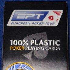 Barajas de cartas: EUROPEAN POKER TOUR - FOURNIER - BARAJA POKER ¡PRECINTADA!. Lote 152696466
