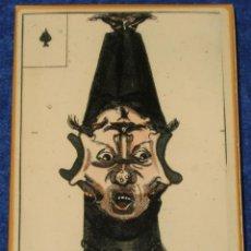 Baralhos de cartas: BARAJA BINETTE - FRANCIA - SIGLO XVIII (1800) - FACSIMIL ¡IMPECABLE!. Lote 152698454