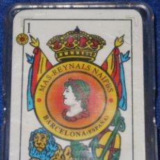 Barajas de cartas: MAS-REYNALS NAIPES - BARAJA ESPAÑOLA. Lote 152698530
