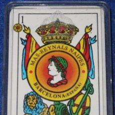 Barajas de cartas: MAS-REYNALS NAIPES - BARAJA ESPAÑOLA. Lote 152698534