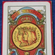 Barajas de cartas: AZAHAR - MAESTROS NAIPEROS - BARAJA ESPAÑOLA. Lote 152698538