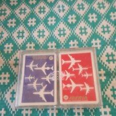 Barajas de cartas: CAJA DE BARAJAS DE CARTAS DE PROPAGANDA. Lote 152730474