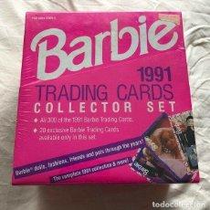 Barajas de cartas: BARBIE 300 TARGETAS COLECCIONABLES. AÑO 1991. NUEVO. Lote 152872890