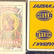 Barajas de cartas: BARAJA, SUMINISTROS LAUSAN-HELLA, FOURNIER, NUEVA, PRECINTADA, . Lote 153136098