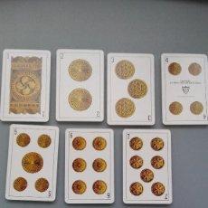 Barajas de cartas: BARAJA COMPLETA NUEVA CARTAS 1979 NAIPES FOURNIER VITORIA COSTUMBR VASCO TIPOS VASCOS PERFECTA CONS. Lote 153186298