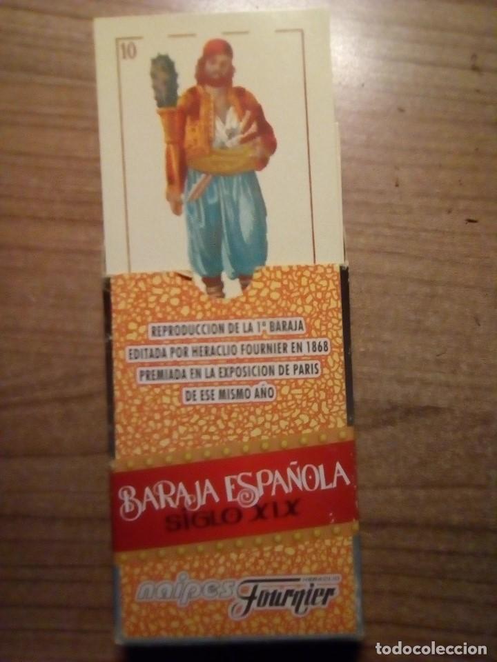Barajas de cartas: BARAJA ESPAÑOLA SIGLO XIX REPRODUCCION - Foto 2 - 153241886