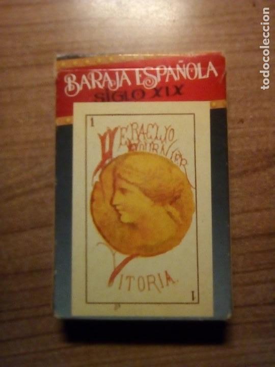 BARAJA ESPAÑOLA SIGLO XIX REPRODUCCION (Juguetes y Juegos - Cartas y Naipes - Baraja Española)