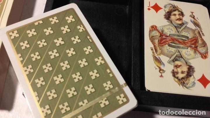 Barajas de cartas: HERACLIO FOURNIER. BARAJA TRADICIONAL RUSA. 2 BARAJAS / 55 CARTAS POR BARAJA. - Foto 3 - 153400150