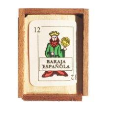 Barajas de cartas: JUEGO DE NAIPES MINIATURA, CARTA ESPAÑOLA, DE JOAN VILARÓ - 48NAIPES. 1992. Lote 153470506