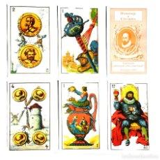Barajas de cartas: JUEGO DE NAIPES – HOMENAJE A CERVANTES, DEAMERICA GRAFITI- 48NAIPES. 1997. Lote 153471674
