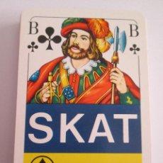 Barajas de cartas: BARAJA F.X. SCHMID - PARA SKAT - JUEGO CARTAS ALEMAN - 32 CARTAS - CON ESTUCHE DE PLASTICO. Lote 153519202