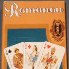 Barajas de cartas: ROMANOV - PIATNIK PLAYING CARDS - AUSTRIA - BARAJA DE POKER . Lote 153598018