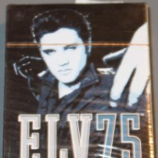 Barajas de cartas: ELV75 - ELVIS - ARTWORK JOE PETRUCCIO - BARAJA DE POKER ¡PRECINTADA!. Lote 153599658