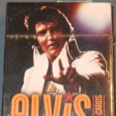 Barajas de cartas: ELVIS PLAYING CARDS - BARAJA DE POKER ¡PRECINTADA!. Lote 153599722