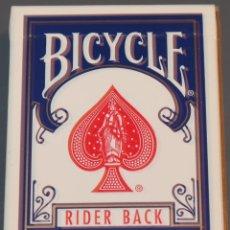 Barajas de cartas: BICYCLE - RIDER BACK - BARAJA DE POKER. Lote 153600130
