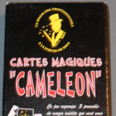 Barajas de cartas: CARTES MAGIQUES - CAMELEON - MAGIA - BARAJA DE POKER. Lote 153600638