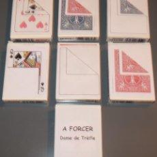 Barajas de cartas: LOTE DE CARTAS PARA MAGIA - BICYCLE - BARAJAS DE POKER. Lote 153601106