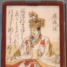 Barajas de cartas: BARAJA HYAKUNIN ISSHU UTA KARUTA - JAPÓN - SIGLO XVIII (1750) - FACSIMIL ¡IMPECABLE!. Lote 153609346