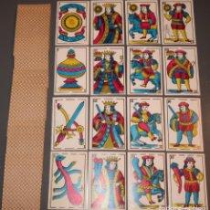 Barajas de cartas: BARAJA ESPAÑOLA - SIN CAJA ¡RARA!. Lote 153609594