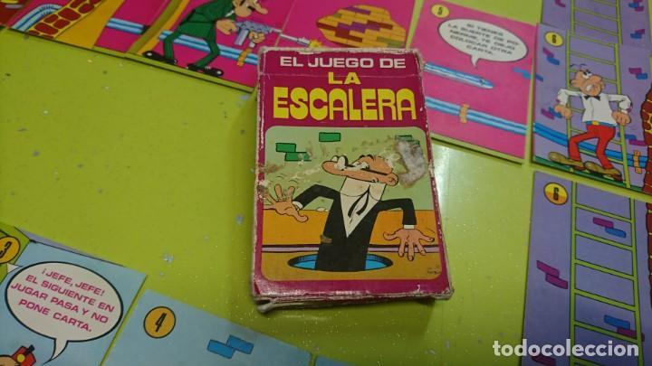 Barajas de cartas: BARAJA EL JUEGO DE LA ESCALERA DE BRUGUERA, COMPLETA - Foto 2 - 153646898