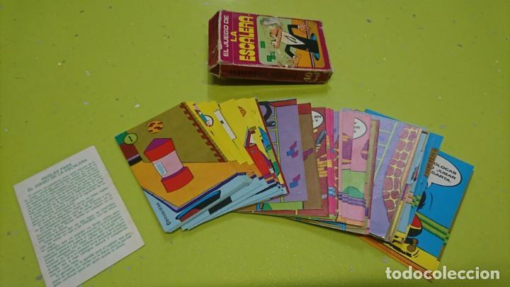 Barajas de cartas: BARAJA EL JUEGO DE LA ESCALERA DE BRUGUERA, COMPLETA - Foto 7 - 153646898