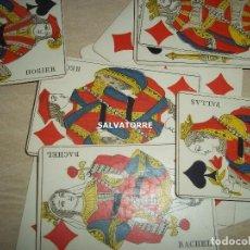 Barajas de cartas: POKER, ANTIGUA, NAIPES BARAJAS. FRANCIA.50 NAIPES.. Lote 153989262