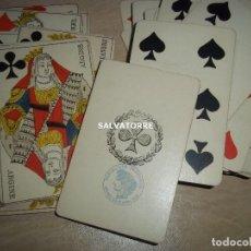 Barajas de cartas: ANTIGUO POKER, , NAIPES. BARAJAS. FRANCIA.42 NAIPES.. Lote 153993670
