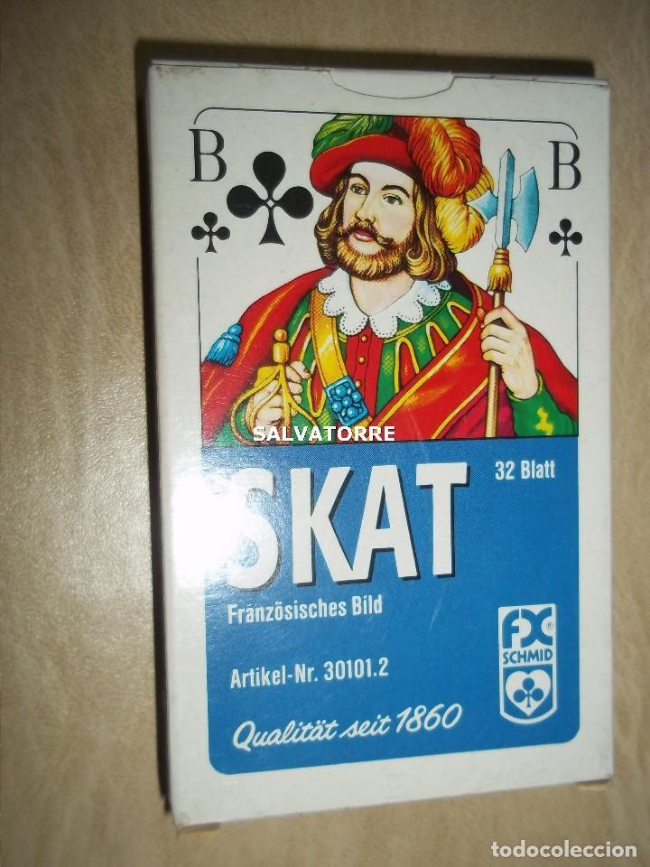 CARTAS,NAIPES.SKAT.32 CARTAS. PLASTIFICADOS. (Juguetes y Juegos - Cartas y Naipes - Otras Barajas)