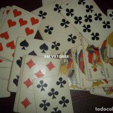 Barajas de cartas: ANTIGUA BARAJA POKER. 51 NAIPES. Lote 154010506
