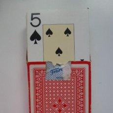 Barajas de cartas: FOURNIER VITORIA. BARAJA PÓKER. Lote 154025246