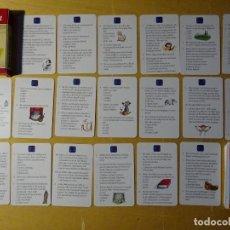 Barajas de cartas: BARAJA DE CARTAS. JUEGO DE PREGUNTAS Y RESPUESTAS. ARTE Y LITERATURA. EN ALEMÁN, 80 GR. Lote 154043810
