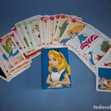 Jeux de cartes: BARAJA ALICIA EN EL PAIS DE LAS MARAVILLAS DISNEY. Lote 154262246