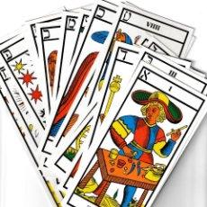 Barajas de cartas: TAROT DE GALES. Lote 154374154