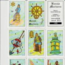 Barajas de cartas: BARAJA ESPAÑOLA MARINERA. Lote 154374658