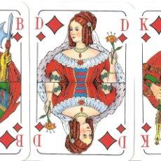Barajas de cartas: BARAJA DE SKAT, CIGARRILLOS PEER, MADE IN GERMANY, 32 NAIPES, NUEVA. Lote 154418750