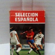 Barajas de cartas: BARAJA FOURNIER SELECCIÓN ESPAÑOLA. 1982. MUNDIAL 82. NUEVA. SIN JUGAR. COMPLETA. 32 CARTAS + INST.. Lote 154452530