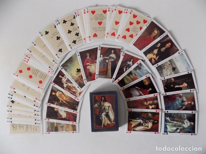 LIBRERIA GHOTICA. BARAJA LES GRANDS ROIS DE FRANCE. 54 CARTAS.POKER. 1980. (Juguetes y Juegos - Cartas y Naipes - Otras Barajas)
