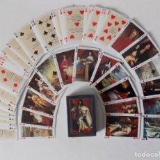 Barajas de cartas: LIBRERIA GHOTICA. BARAJA LES GRANDS ROIS DE FRANCE. 54 CARTAS.POKER. 1980.. Lote 154469510