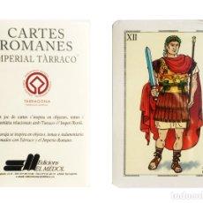 Barajas de cartas: JUEGO DE NAIPES - CARTES ROMANES IMPERIAL TARRACO, EDICIÓN 2001.. Lote 154473662