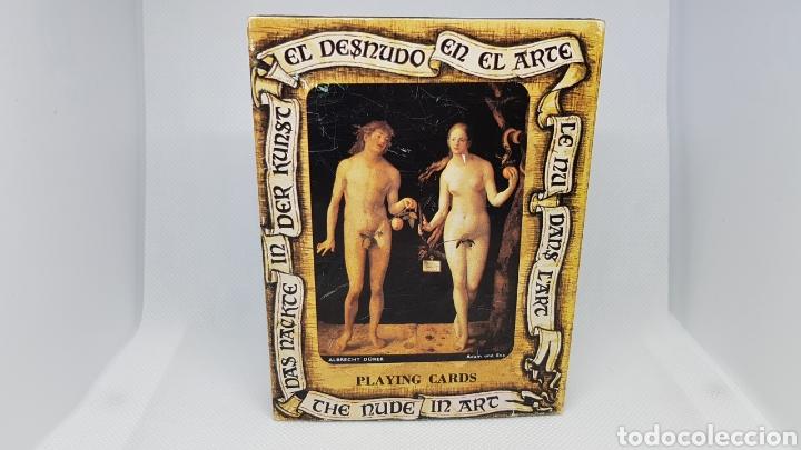 BARAJA EL DESNUDO EN EL ARTE NUEVA HERACLIO FOURNIER AÑOS 70/80 (Juguetes y Juegos - Cartas y Naipes - Barajas de Póker)