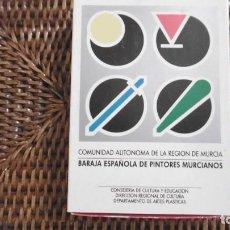 Barajas de cartas: BARAJA ESPAÑOLA DE PINTORES MURCIANOS.. Lote 154804850