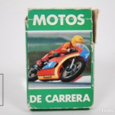 Mazzi di carte: BARAJA DE CARTAS INFANTIL - MOTOS DE CARRERAS - EDIT FOURNIER - 32 CARTAS - COMPLETA. Lote 154815801