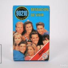 Barajas de cartas: BARAJA DE CARTAS INFANTIL - SENSACIÓN DE VIVIR 90210 - AÑO 1991- FOURNIER - 33 CARTAS - COMPLETA. Lote 154953130